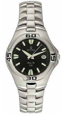 Relógio Bulova Marine Star Stainless Watch 63b22