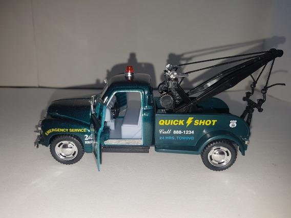 Miniatura Pick-up Guincho Chevrolet 3100