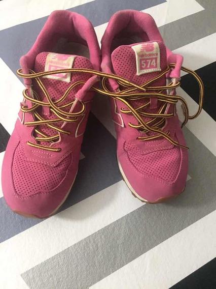 Zapatillas New Balance Fucsia Us 7