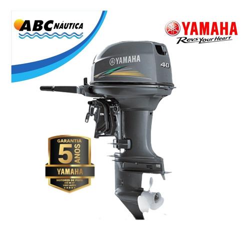Imagem 1 de 10 de Motor De Popa Yamaha 40hp - Pronta Entrega