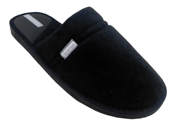 Pantufla Invierno Color Negro - Art. 132n Del 39 Al 48
