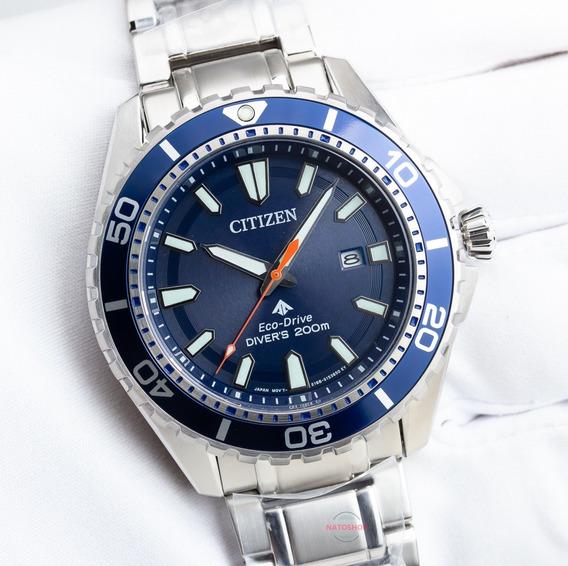 Relógio Citizen Eco-drive Mergulho Azul