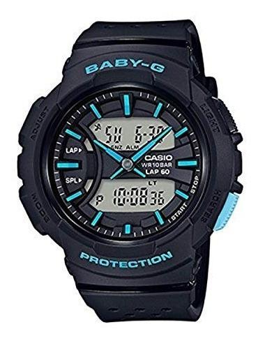 Casio Baby G Reloj De Mujer Negro 46.4mm Resina Bga240-1a3