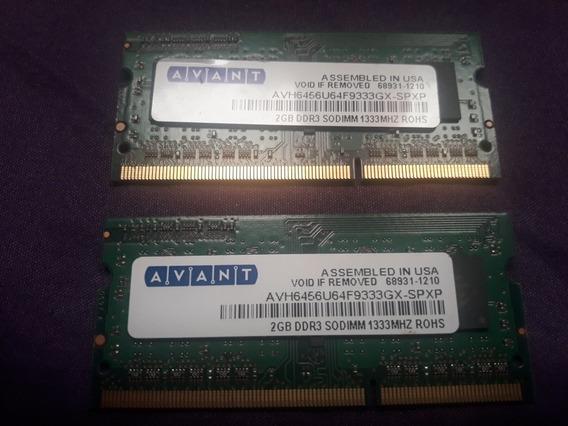 Memoria Note/net Ddr3 ( 1 X 2gb )