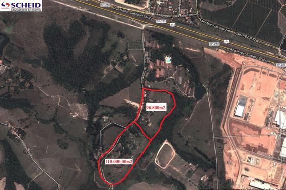 Excelente Área De 11.000 M² À Venda Em Sorocaba, Próximo À Raposo Tavares - Mr63482