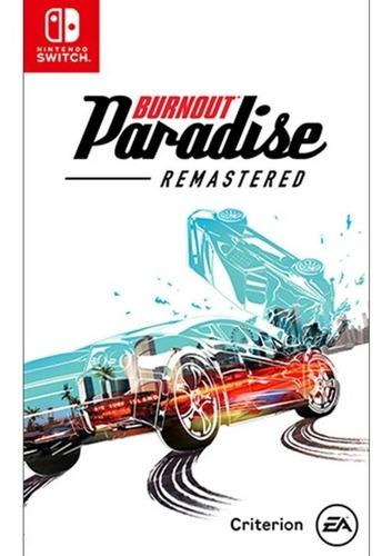 Imagen 1 de 3 de Burnout Paradise Remastered - Nintendo Switch Nuevo Físico
