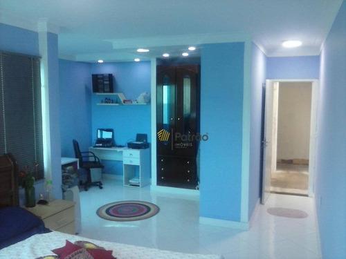 Casa Com 3 Dormitórios À Venda, 430 M² Por R$ 760.000,00 - Parque Selecta(montanhão) - São Bernardo Do Campo/sp - Ca0536