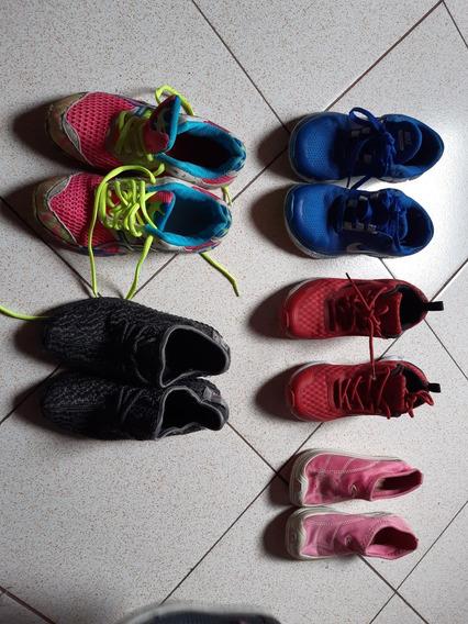 Zapatos Deportivos Dama Usados Talla 34 Y 35