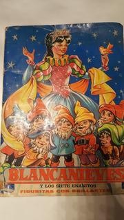Álbum De Blancanieves Antiguo Completo!