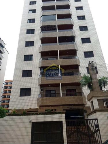 Cobertura - 3 Dorms, Ocian, P. Grande - R$ 900 Mil - Vact1221