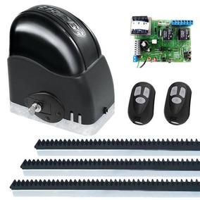 Kit Motor Portão Eletrônico Deslizante 1/4 110v Ou 220v