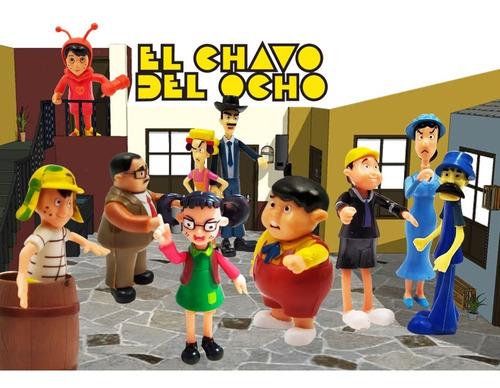 Chavo Del 8 Juguete Figuras Jugueteria Colección Didácticos