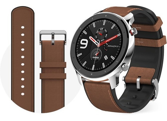 Smartwatch Gps Amazfit Gtr 47 Mm A1902 Stainless Steel