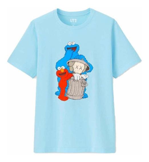 Playera Tshirt Kaws X Sesame Street Originales