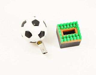 Unidades Flash Usbfebniscte 64gb Diseño De Fútbol Memoria..