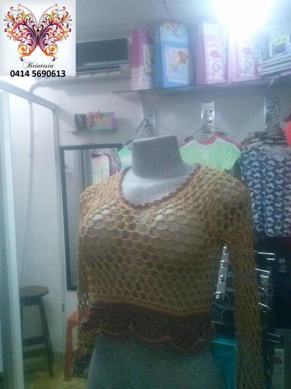 Sueter Tejido A Crochet Ganchillo