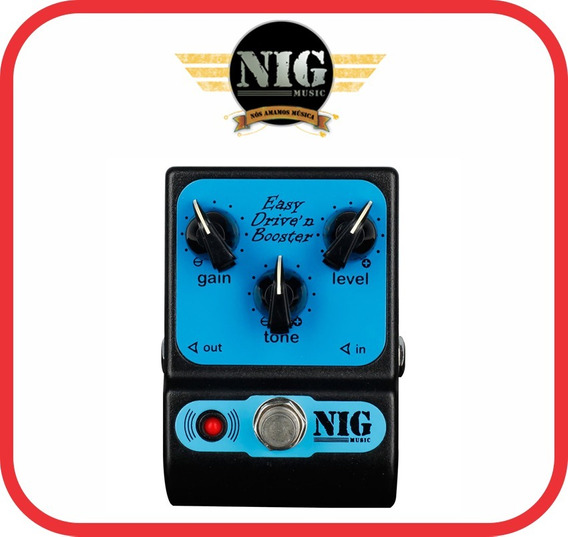 Pedal De Guitarra Nig Easy Driven´n Boster - Low Gain