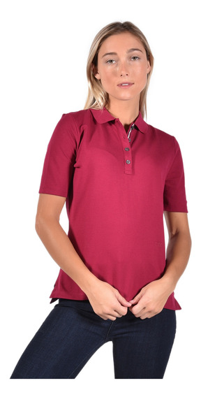 Polo Regular Fit Tommy Hilfiger Rojo Ww0ww25273840 Mujer
