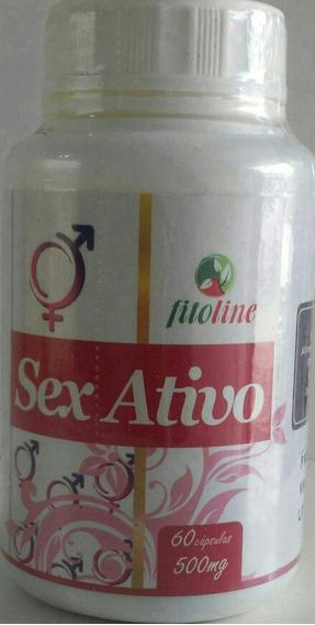 Sex Ativo+libido +prazer 01und. C/60cpas.