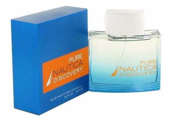 Perfume Nautica Pure Discovery Caballero 100ml Original #
