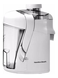 Extractor de jugos Hamilton Beach Health Smart blanco 120V 67800 con accesorios