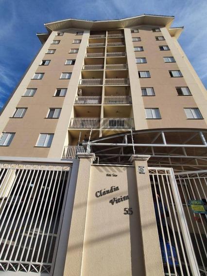 Apartamento Com 3 Dormitórios Para Alugar, 123 M² Por R$ 1.500,00/mês - Parque Campolim - Sorocaba/sp - Ap8629
