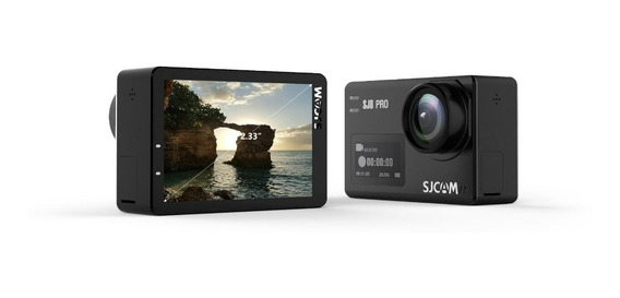 Câmera Sj8 Pro Wi-fi Touch Screen Youtube Vlog 4k 60fp 12mp