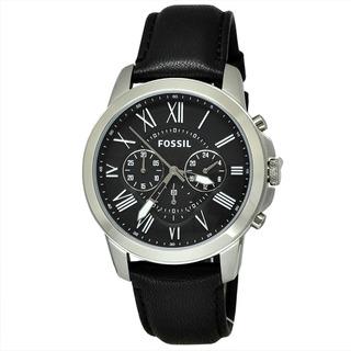 Reloj Fossil Fs4812/fs4813 Crono Cuero Hombre 100% Original
