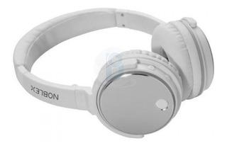 Auricular Noblex Bluetooth Hp332w Blanco