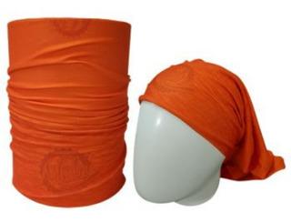 Bandana Solid Color Orange (tons De Laranja) Cod 305