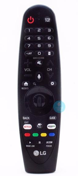 Controle Magic Tv LG 50uk6520 An-mr18ba 2018 Linha Original