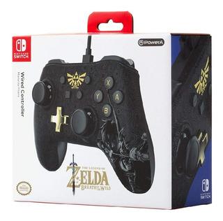 Controle Pro C/ Fio Zelda Nintendo Switch Único Original