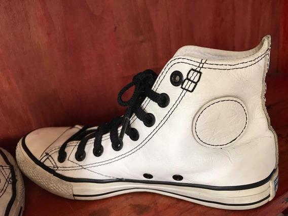 Zapatillas Converse Cuero Blanca