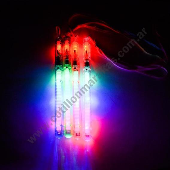 Varas Colgantes Luminosas Led 21 Cm 7 Secuencias X 12