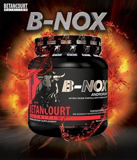 B-nox X 630g - Pre Entreno - O. Nitrico + Testo De Betancour