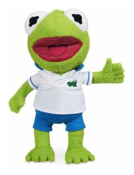 Boneco Pelúcia Muppets Baby Kermit