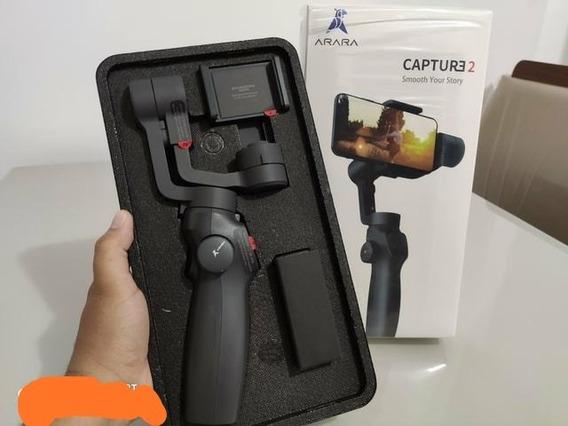 Estabilizador Gimbal Mobile Para Celular E Gopro 3 Eixos Dji