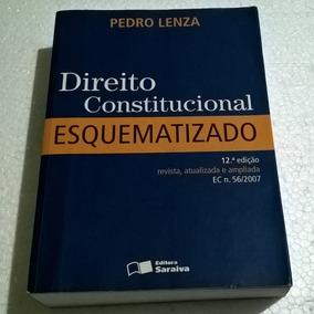 Livro Direito Constitucional Esquematizado - 12ª Edição