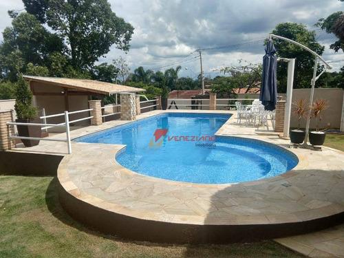 Chácara Com 4 Dormitórios À Venda, 1.000 M² Por R$ 900.000 - Ch0075