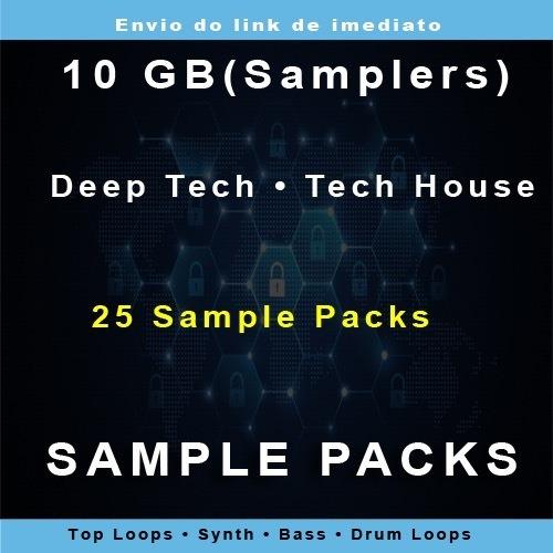 Sample Packs - Deep Tech Tech House - On-line - 10gb