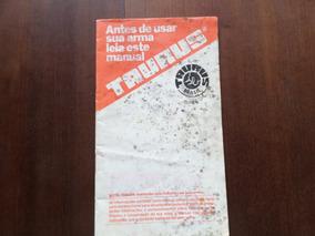 Manual Do Proprietário Original Revólver Pistola Taurus