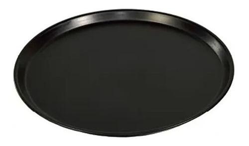 Imagen 1 de 9 de Pizzera Bandeja Mozo Antideslizante Reforzada 40 Cm Silmar