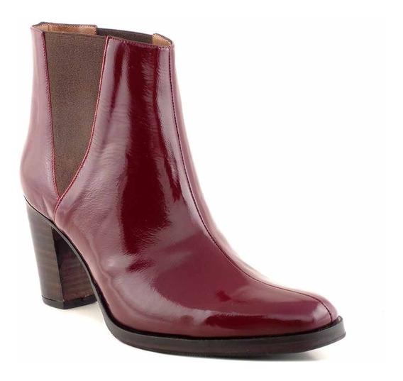 Botas Mujer Botineta Cuero Zapatos Briganti Dama - Mcbo24889