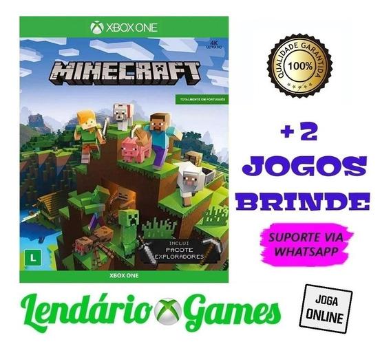 Minecraft X One M. Digital + 2 Brindes