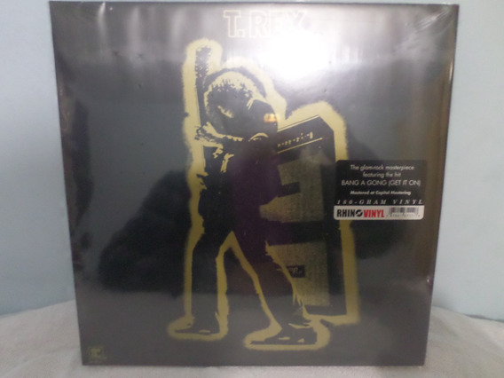 Lp T Rex - Electric Warrior- Reedição