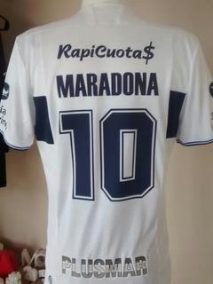Camiseta Gimnasia Gelp Le Coq Sportif 2018 Blan +10 Maradona