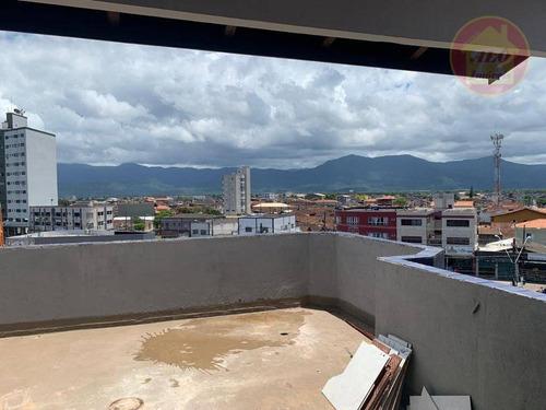 Cobertura À Venda, 160 M² Por R$ 249.000,00 - Tupi - Praia Grande/sp - Co0061