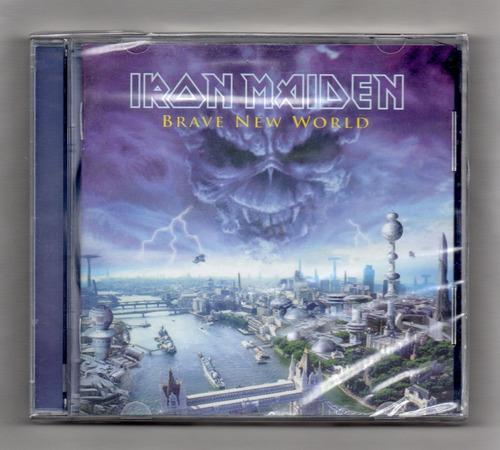 Iron Maiden  Brave New World Cd Original Importado