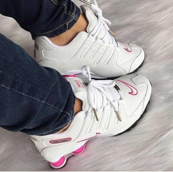Tênis Nike Shox Feminino Usado Poucas Vezes.