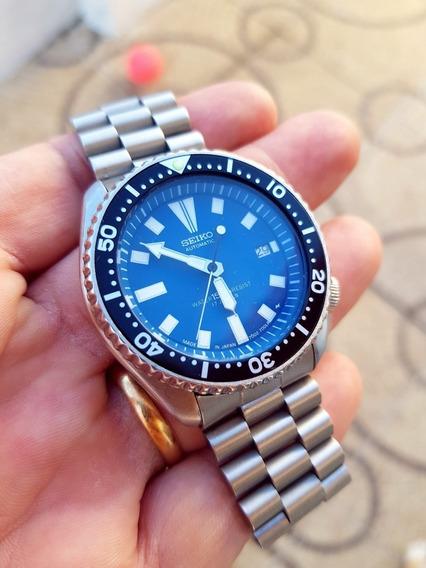 Relógio Seiko Scuba 7002 Blue